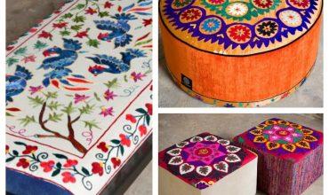 Suzani, un design vivace e attuale dall'Asia centrale